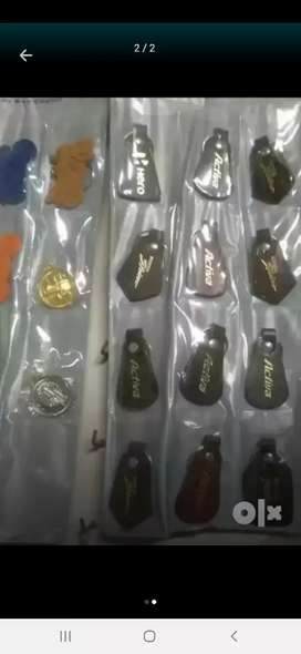 Leather key chains sheets available for sale