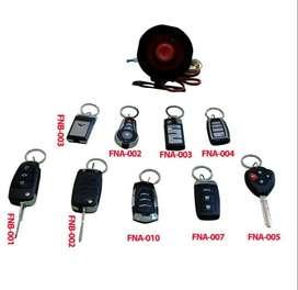alarm remot mobil kunci lipet model slide model non slide ++ PASANG