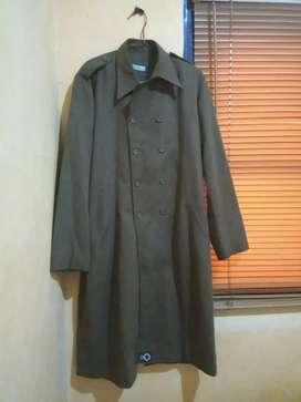 Long Coat Wool Pria