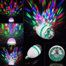Sale Lampu disco spinning, ecer/grosir ready