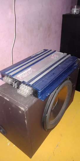 Speaker dan amplifier power