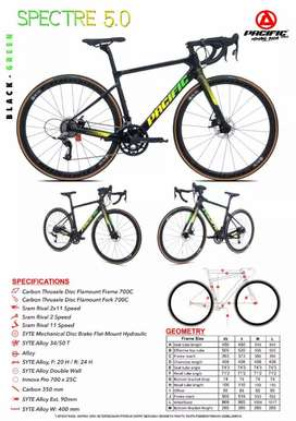 Pacific Spectre 5.0 700c Roadbike
