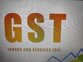 GST audit and Return Filling work