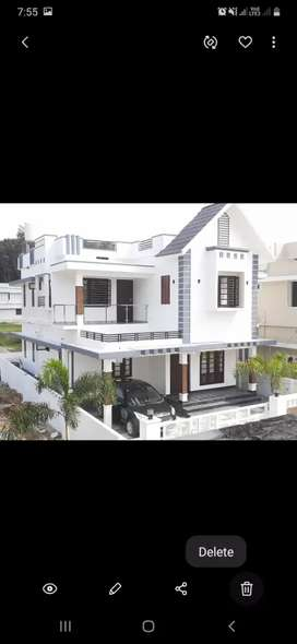 Gated Colony 5Cent Kakkanad kizhakkambalam 4BHK New house