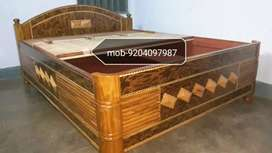 VERY ATTRACTIVE AND BEAUTIFUL BOX BED HAVING SIZE 5/6.5