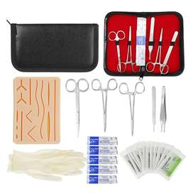 Complete Suture Practice Kit for Suture Training, Including Silicone S