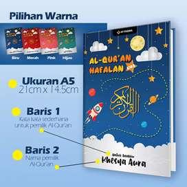 Alquran Hafalan tajwid gratis custom nama