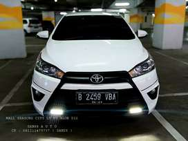 TOYOTA YARIS S TRD 1.5 AT 2015 Km 47rb Record