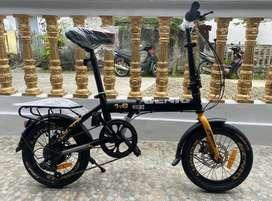 "Sepeda lipat Genio Lunox 1.0 by United Uk ""16 inch"