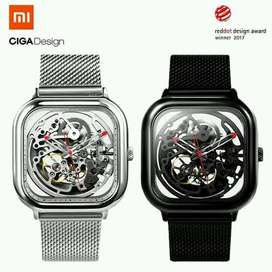 SR Xiaomi CIGA Hollowed Out Design Automatic Mechanical Watch