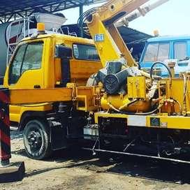 Baru selesai proyek siap kerja lagii Concrete Pump Surabaya Jakarta