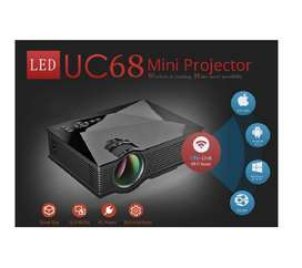 Brand New Mini Projector UNIC  UC68 WiFi 1800 Lumens