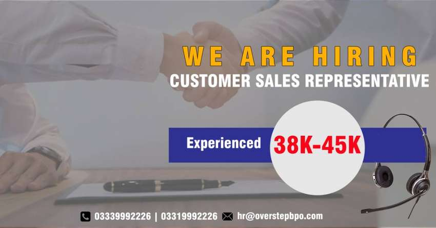Job Offer US Sales Representative | Sales Exectives Required 0