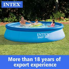 INTEX 28130 (size:12ft/30inc) AGP easyset swimming pool for summer.