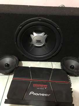 Subwoofer Dan power