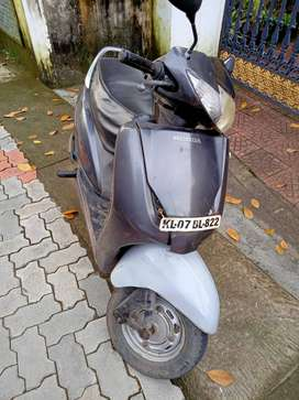 Honda Activa 2009 Model Grey colour