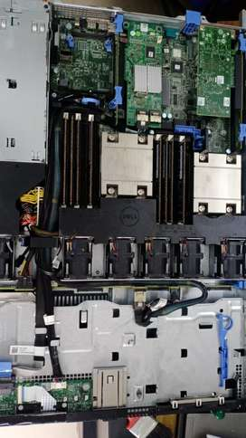 Refurbished Server: - Dell Poweredge R420 1U RACK,