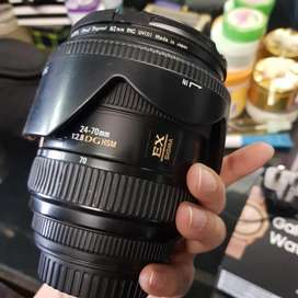 Sigma 24 70 f2.8 lens for Canon