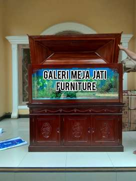 Meja Aquarium lois natural B05 talk not katu jati