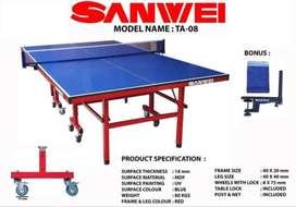 Meja Pingpong Tenis Meja Sanwei TA 08 FREE ONGKIR