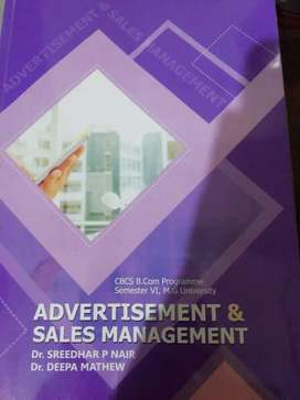 Advertisement and sales management