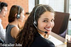 Wanted female telecallers freshers for SBI process