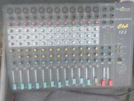 Studiomaster mixer 12 channel