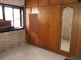 2 Bhk Semi Furnished flat Jankalyan Nager only Family