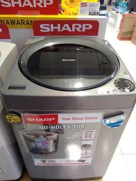 Mesin cuci SHARP WASH MACH bisa di credit cicilan ringan