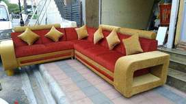 Cream colour corner sofa tanveer furniture