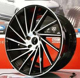 Velg mobil HRV Innova CX5 ring 19 hitam polish