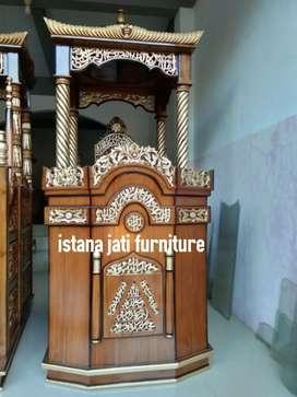 Mimbar masjid khutbah masjid Mimbar salina kubah