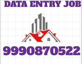 Part time work Home Based Job Typing Work Data entry JOB offline work.