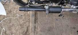Bullet alloy wheel Mercedes  4 month use and barrel silencer