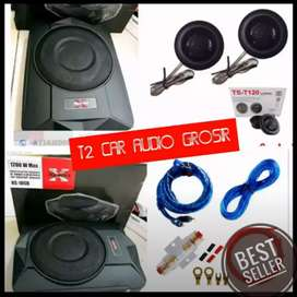 Laris manis subwoofer bawah jok simple merk Xplood 10inc
