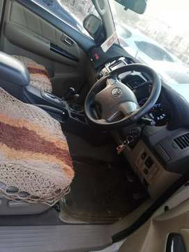 Toyota/fortuner like brand new just buy and drive no work required