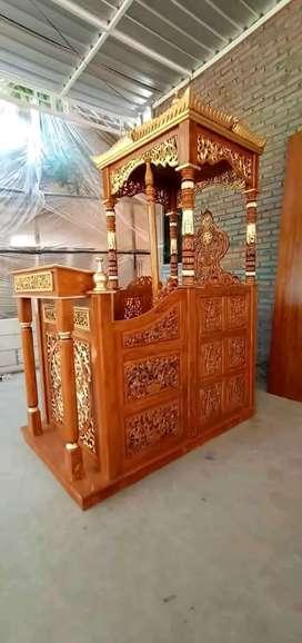 mimbar masjid kubah simple ceramah 006