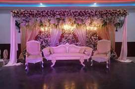 Marriage hall office booking k le