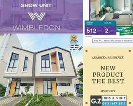 Harga Perdana wimbledon sport city jababeka # Rumah Murah 2lantai