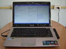 Asus A43S Core i7 Ram 8GB VGA 2GB Laptop Gaming murah