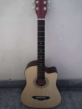 Guitar for sale only 2 months used with bagand picks
