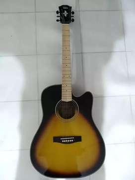 Gitar akustik cakrawala