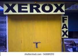 Xerox shop at Bansdroni