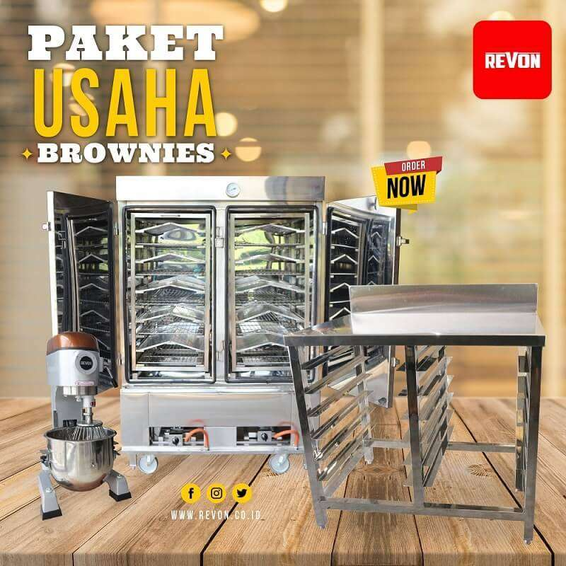 paket Memulai usaha brownies kukus rumahan berkualtias di Padang