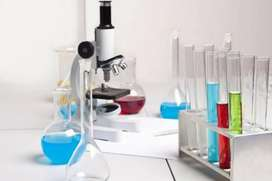 Chemicals, apparatus, all lab equipments available