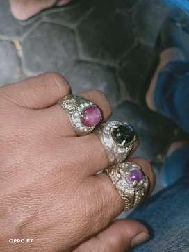 Batu permata  Ruby dan batu permata black safir asli