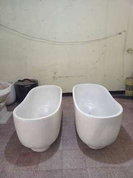 Bathtub Lengkung Costum Teraso Handmade