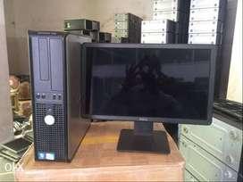 """Used Dell Optiplex 760 DDr2 C2d Computer set (4gb/320gb/17""""Lcd) Warnty"""