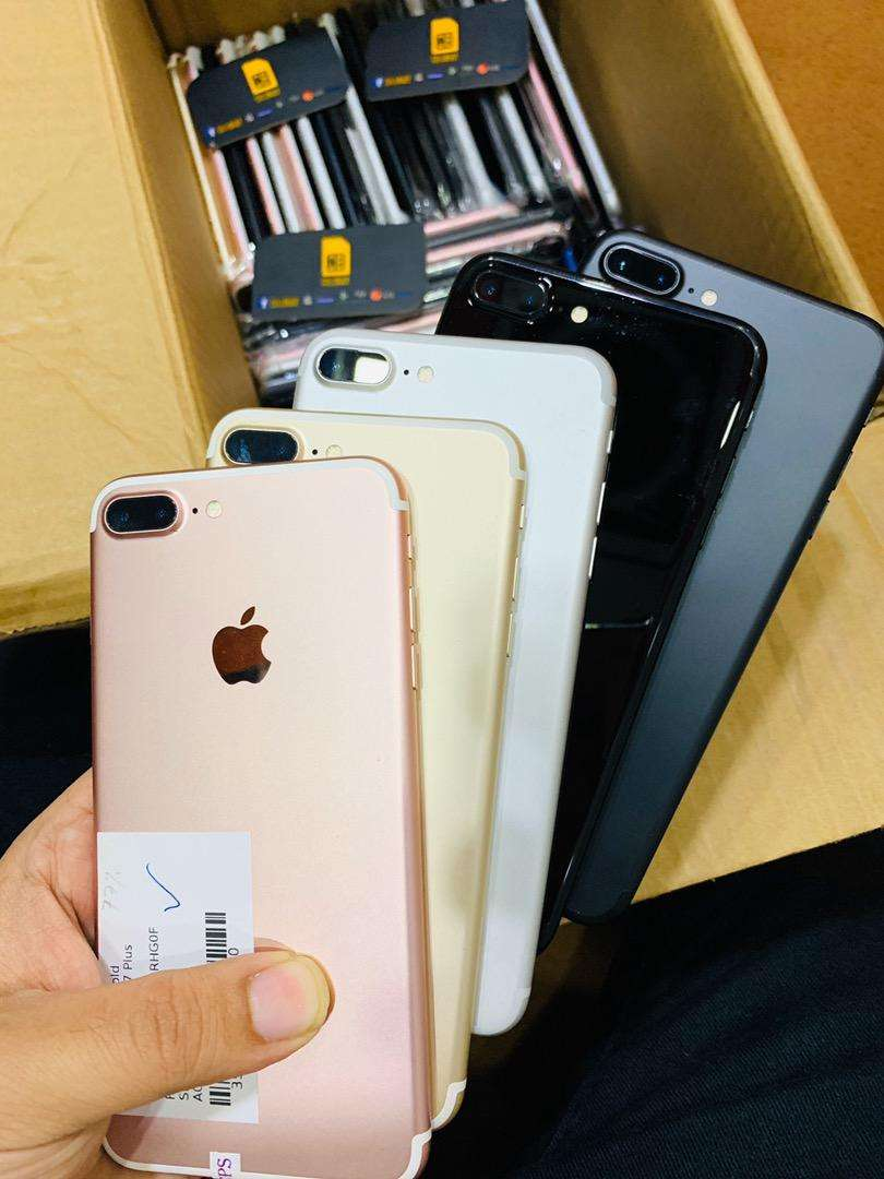 iPhone 7 Plus 32Gb & 256Gb Original USA PTA approved Duty Paid Factory 0
