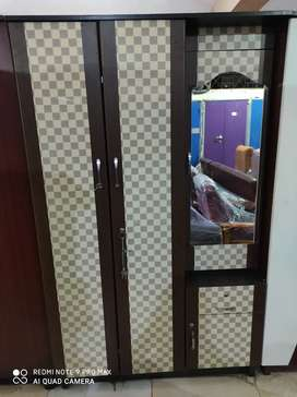 Brand New Three Door Wardrobe With Dressing Size (6*4 1/2) For Sale